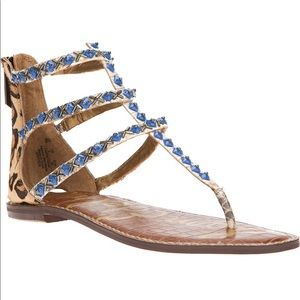 Sam Edelman Greyson Embellished Thong Sandal 5